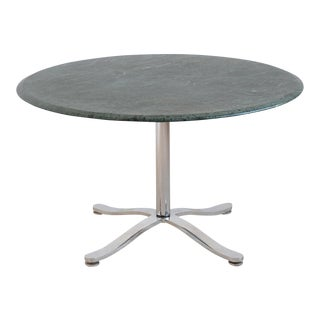 Nicos Zographos Table with Marble Top For Sale