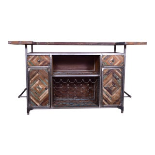 Brown Javier Home Bar Counter For Sale