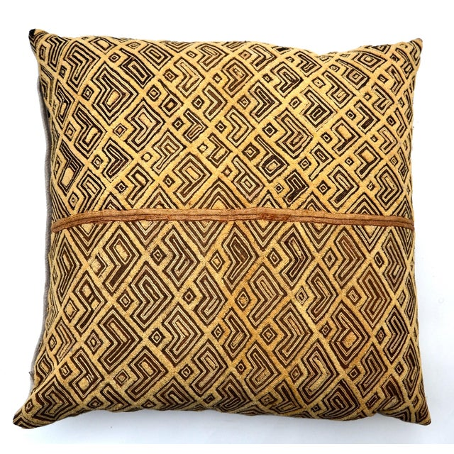 Rich texture bold contrasting neutral earth tones make for a unique pillow with hidden zipper and feather/down insert. The...