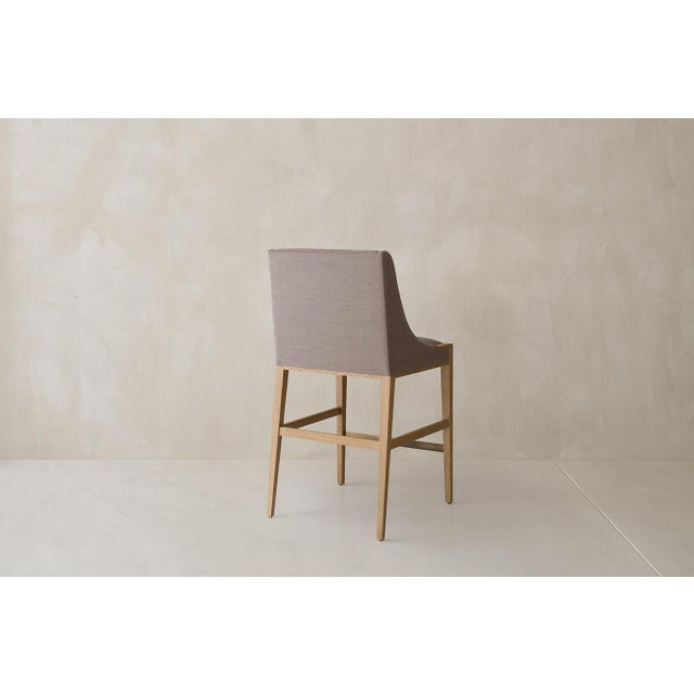 Not Yet Made - Made To Order Lisse Counter Stool For Sale - Image 5 of 12