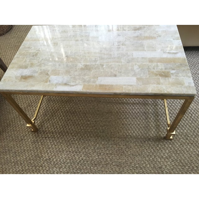 Currey and Co Coffee Table - Image 6 of 8