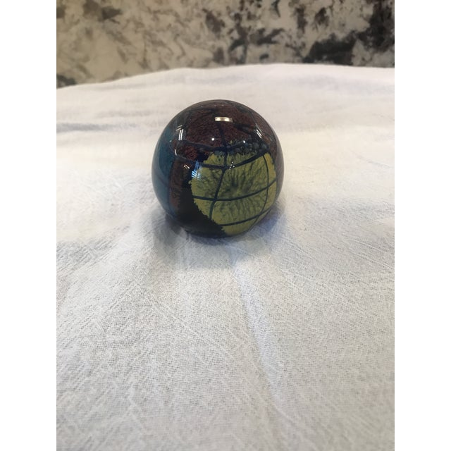 Contemporary Mid-Century Paper Weight For Sale - Image 3 of 4