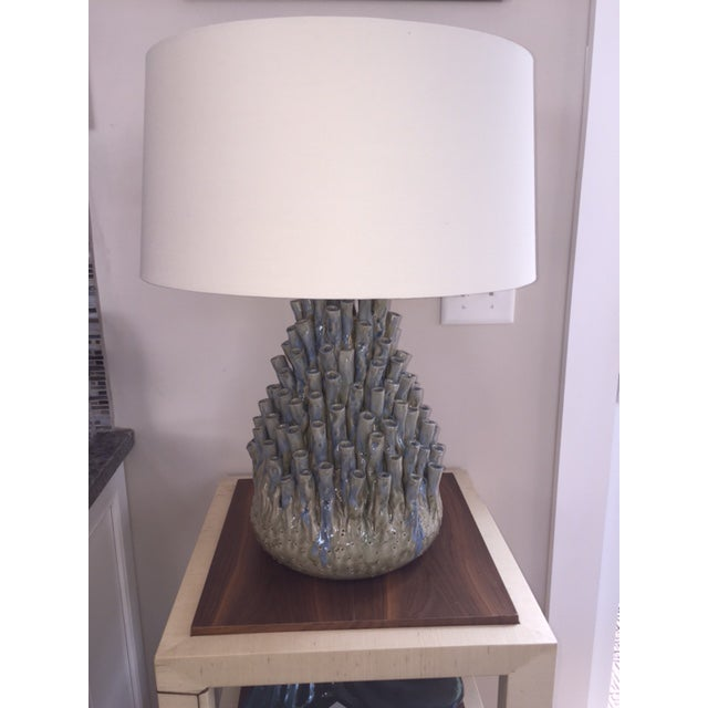 This sea anemone lamp is hand made using handed down old craft technique that date back to over 800 years, optimal use for...