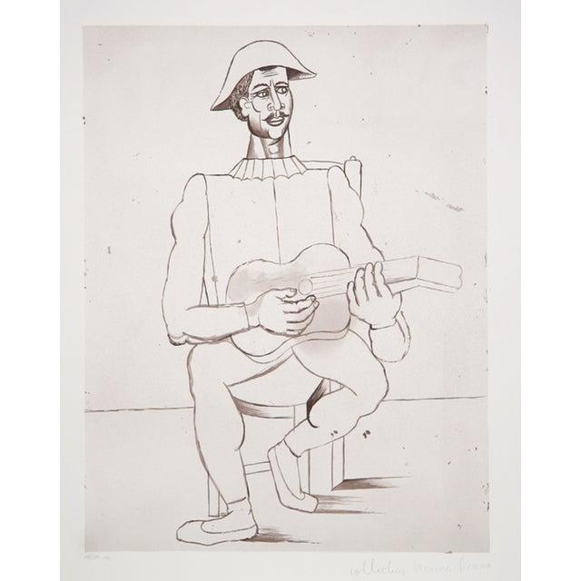 Pablo Picasso, Arlequin Moustachu, Lithograph For Sale