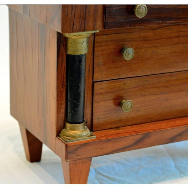 Miniature Italian Neoclassical Tabletop Commode For Sale - Image 4 of 9