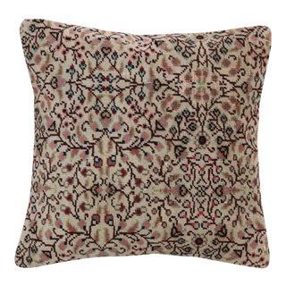 Traditional Handmade Rug Pillow Cover For Sale