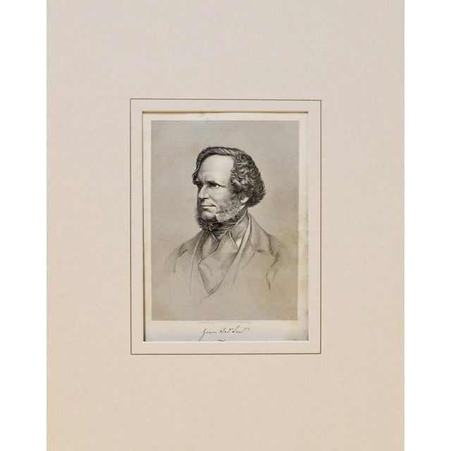 English Traditional 1869 Antique Earl of Derby Print For Sale - Image 3 of 3