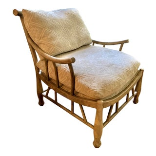 Chippendale Lounge Chair For Sale