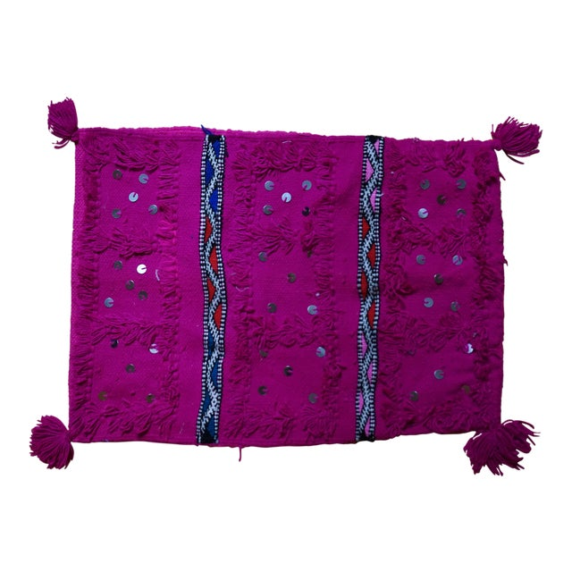 Moroccan Handmade Pillow - Image 1 of 4