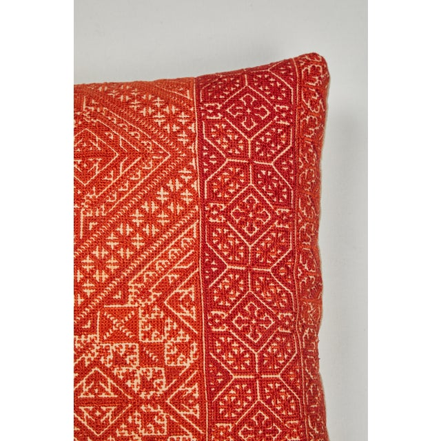 Moroccan Fez Embroidery Pillow For Sale - Image 4 of 6