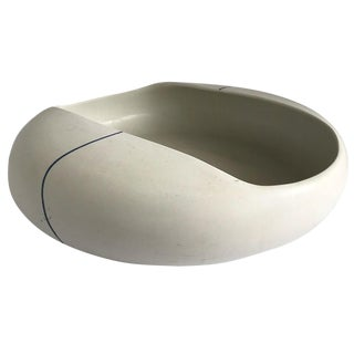 1970s Large Modernist Ceramic Bowl