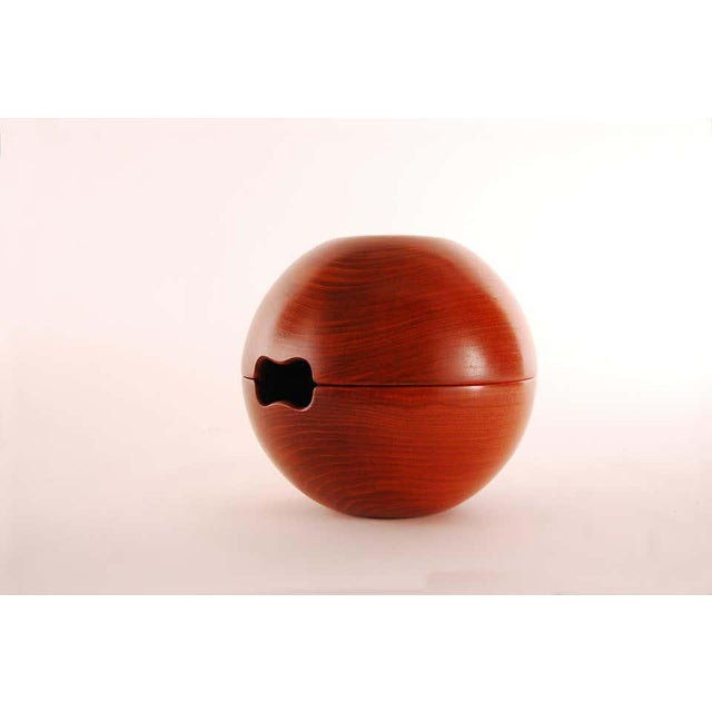 Danish Modern 1950s Two Piece Teak Salad Bowl by Kay Bojesen For Sale - Image 3 of 9