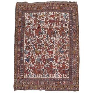 Persian Khamseh Rug For Sale