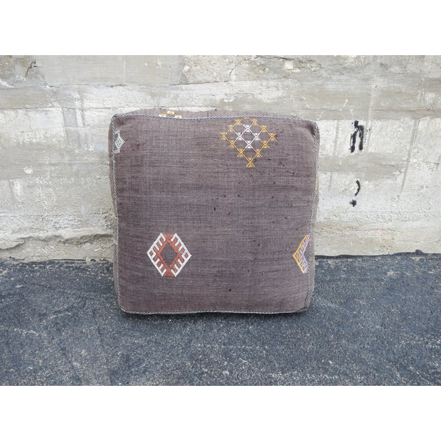 Sabra Silk Moroccan Floor Pillow - Image 2 of 3