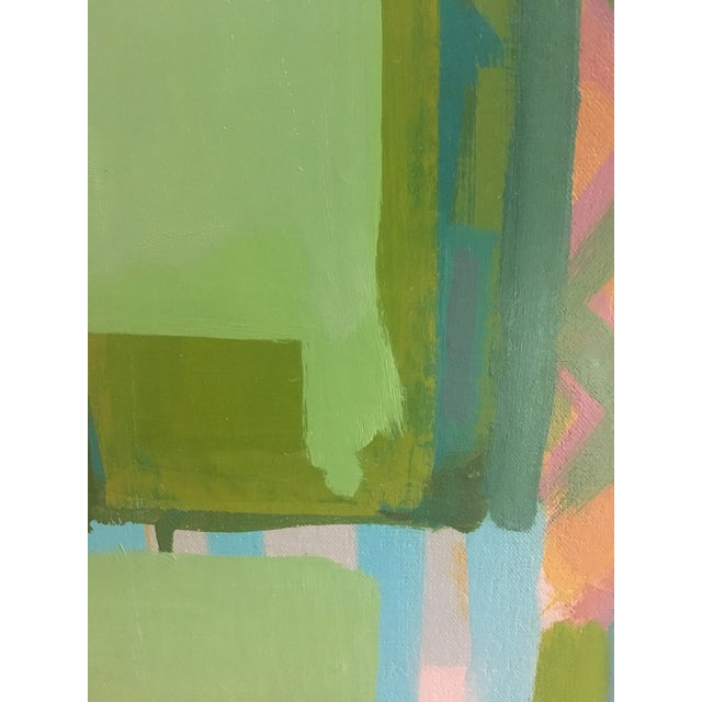 Canvas Abstract Painting by Paul Rinaldi For Sale - Image 7 of 8