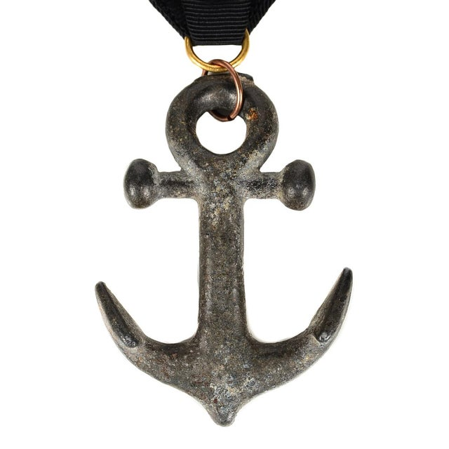 19th Century Antique Hammock Metal Anchor For Sale - Image 4 of 4