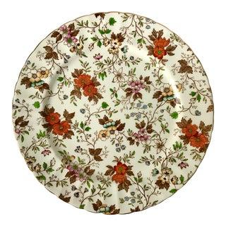 Antique Radford's Chintz Serving Plate For Sale