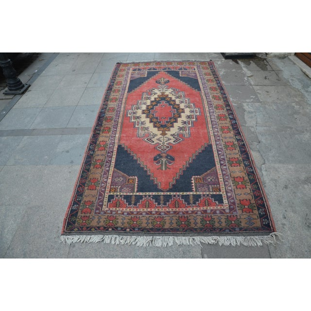 Turkish Anatolian Rug - 4′7″ × 8′7″ - Image 2 of 6