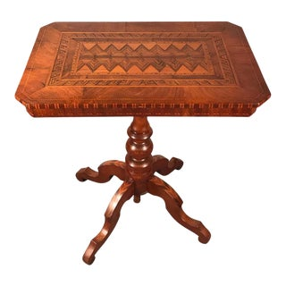 1860s Italian Side Table For Sale