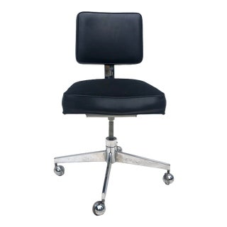 Mid-Century Rolling Desk Chair by Steelcase For Sale