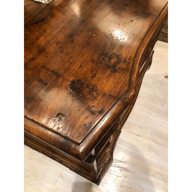 Walnut Antique Four-Drawer Walnut Commode, Italy, Circa 18th Century For Sale - Image 7 of 7