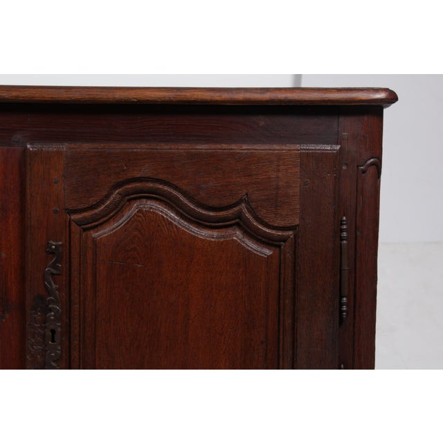 Country Louis XV French Country Buffet For Sale - Image 3 of 11