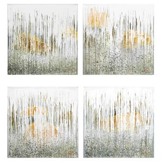 "Contemporary ""Waterfall"" Paintings by Puchong T (4 Available) For Sale"