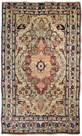 Image of Ink Blue Traditional Handmade Rugs