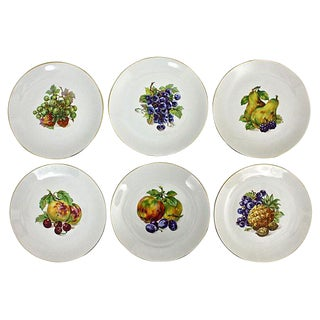 Vintage Dessert Plates- Set of 6