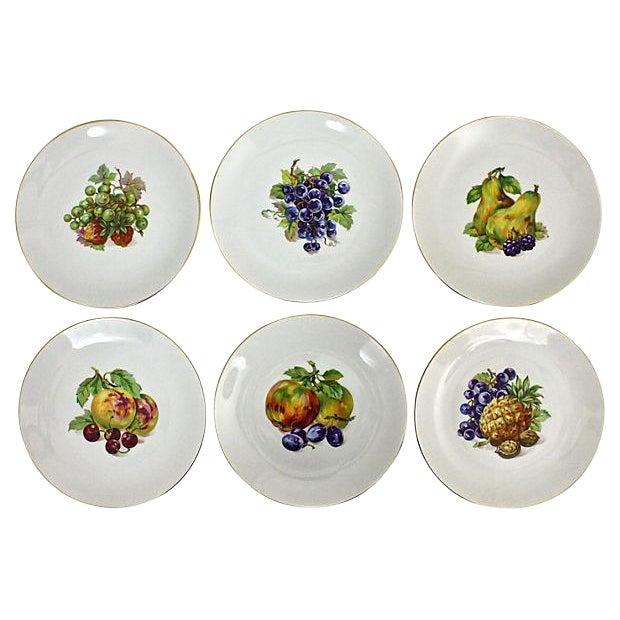 Vintage Dessert Plates- Set of 6 For Sale