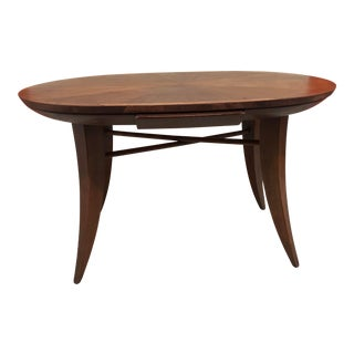 Frankl Style Oval Wood Desk For Sale