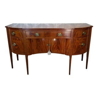 C1850 Antique Federal Style Mahogany Sideboard