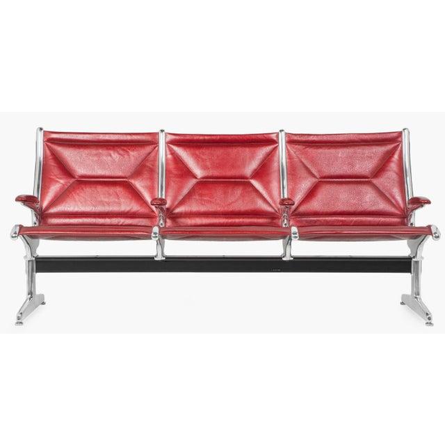 Eames for Herman Miller Tandem Sling Bench For Sale - Image 9 of 10