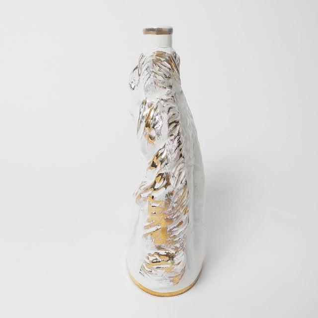 Late 20th Century Italian Borghini White Wine Horse Head Decanter For Sale - Image 5 of 8
