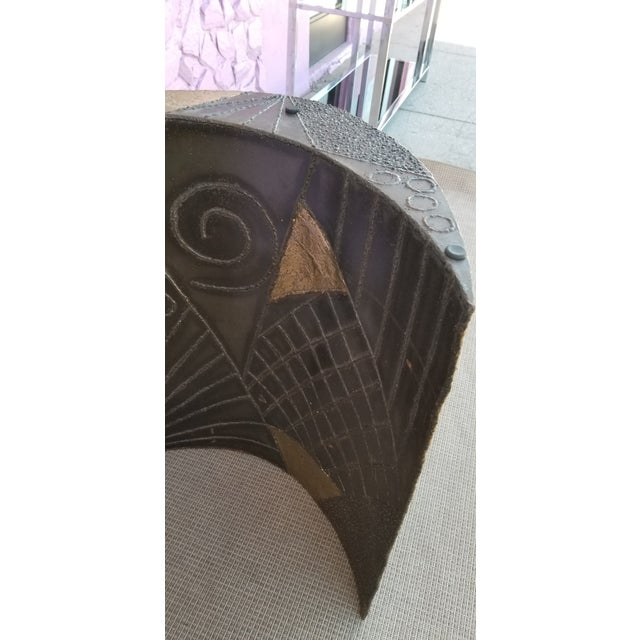 Brutalist Paul Evans Sculptural Dining Table Base - 2 Pieces For Sale In Miami - Image 6 of 13