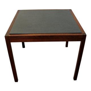 Mid-Century Danish Modern Milo Baughman Founders Walnut Slate Coffee/End Table
