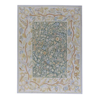"""Pasargad Aubusson Hand Woven Wool Rug - 9' 2"""" X 12' 5"""""""