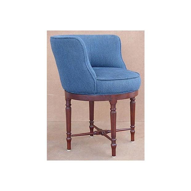 Neoclassical Swivel Vanity Chair - Image 2 of 8