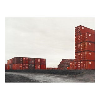 Victoria Sambunaris (American, B. 1964) Untitled (Red Containers, Stacked), Newark, Nj, 2001