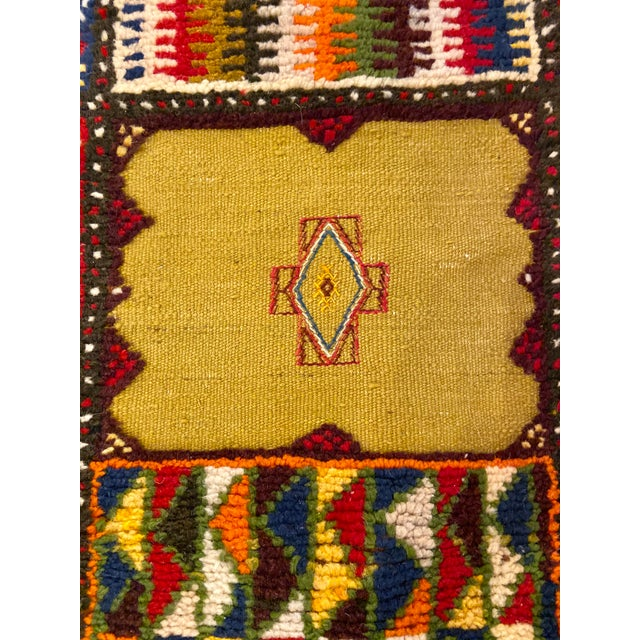 """2010s Berber Handwoven Patchwork Rug-2'2'x8'8"""" For Sale - Image 5 of 8"""