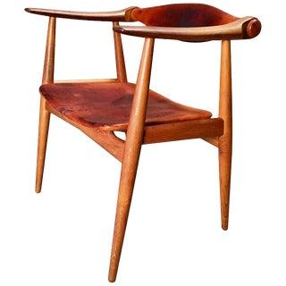 """Vintage Hans Wegner Ch34 """"Yoke"""" Chair for Carl Hansen For Sale"""