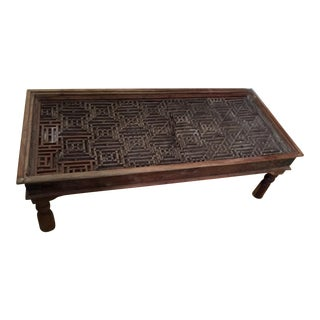 18th Century Chinoiserie Fretwork Table For Sale