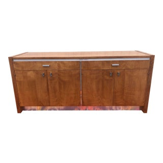 Mid-Century Modern Founders Walnut Credenza For Sale