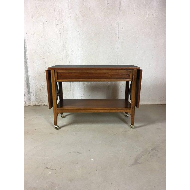 1960s Vintage Lane Furniture Buffet Server Bar Cart Chairish