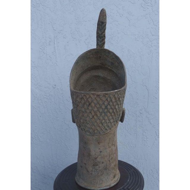 Bronze Head of an Ife Queen Mother - Image 7 of 9