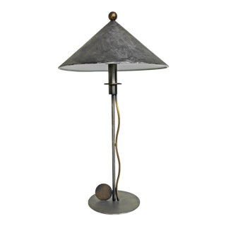 Post Modern Sonneman for Kovacs Table Lamp - 1987 Memphis Style For Sale