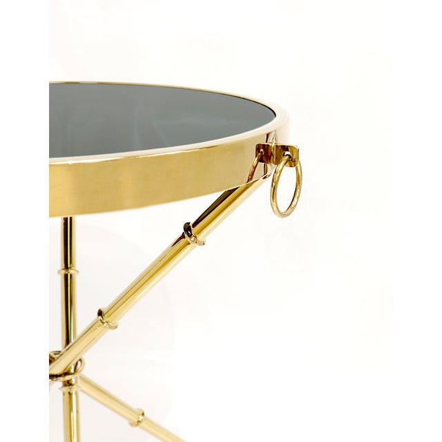 Hollywood Regency Hollywood Regency Pasargad Home Vicenza Collection Side Table For Sale - Image 3 of 7