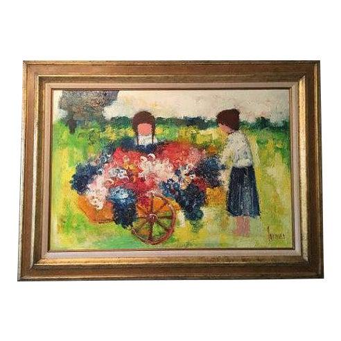 Christian Lanier Oil Painting For Sale