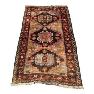 Vintage Persian Hamadan Rug - 2′1″ × 4′9″