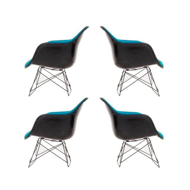 Set of Four Eames LAR Chairs For Sale - Image 9 of 9
